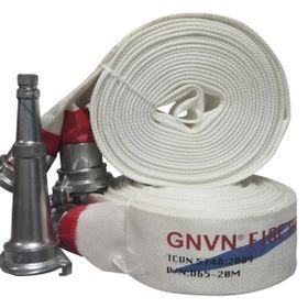Vòi chữa cháy D65-20M -W 16 -B 38MPA Khớp nối Ø65 Lăng phun - THEO TCVN 5740 2009 - GNVN giá sỉ