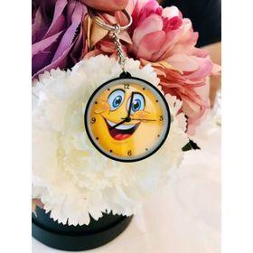 Móc khóa đồng hồ hồ mặt cười giá sỉ