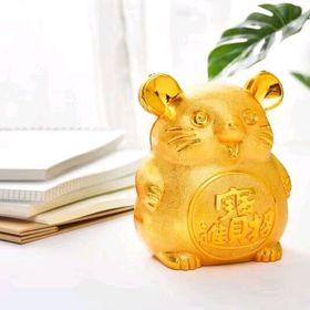 chuột vàng đựng tiền giá sỉ