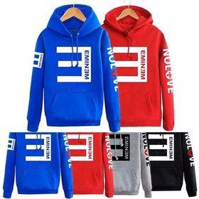 Áo hoodie in chữ emien giá sỉ