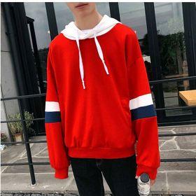 Áo hoodie tay phối màu giá sỉ