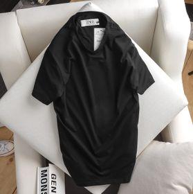 áo thun nam trơn 100 cotton màu đen giá sỉ