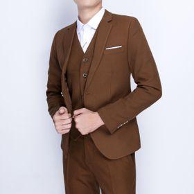 vest nam cao cấp chất vải cực đẹp màu vàng bò giá sỉ