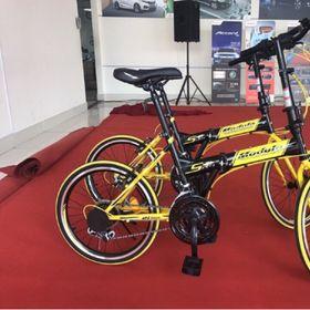 Xe đạp gấp Honda