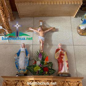 Bàn thờ Công Giáo bằng gỗ đẹp giá rẻ giá sỉ