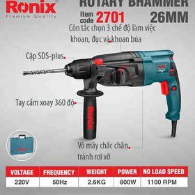 Máy khoan 3 chức năng 2701 800W 26mm giá sỉ