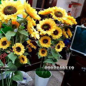Cây hoa hướng dương giả giá sỉ