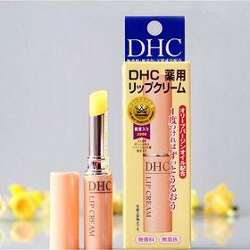 Son dưỡng môi DHC không màu Nhật Bản