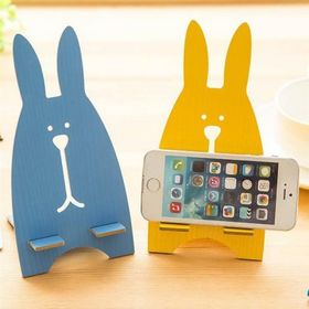 Giá đỡ gỗ điện thoại hình thỏ cưng giá sỉ