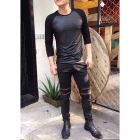 Quần Jogger nam thời trang cao cấp Kaki đen
