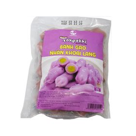 500g Bánh Gạo tokbokki Green Foods Nhân Khoai Lang Hàn Quốc giá sỉ