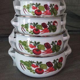 Bộ 5 nồi men porcelain cao cấp giá sỉ