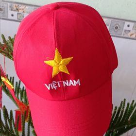 Nón thêu sao vàng chữ Việt Nam giá sỉ