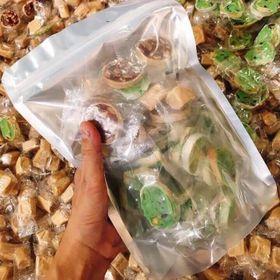 Kẹo mix kẹo chuối - kẹo dừa sáp giá sỉ