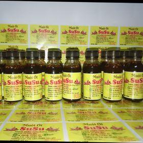 Nước chấm muối ớt chai 120ml giá sỉ