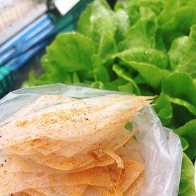 Bánh Tráng Muối Nhuyễn Hành Phi - Tây Ninh giá sỉ