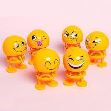 Thú nhún Emoji con lắc lò xo - con cười Emoji giá sỉ