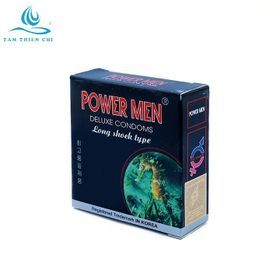 Bao cao su Powermen Cá ngựa 4in1 hộp 3 cái giá sỉ