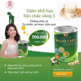 Mầm đậu nành sâm tố nữ collagen HACO giá sỉ
