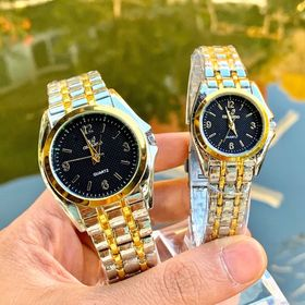 Đồng hồ nam nữ RS dây đúc giá sỉ