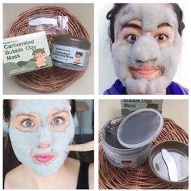 Mặt nạ sủi bọt thải độc bì heo Carbonated Buble Clay mask Bioaqua giá sỉ