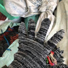 Găng tay bảo hộ lao động công nghiệp nặng Chất liệu sợi vải Hàng Cao Cấp giá sỉ