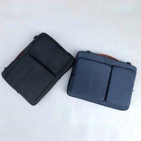 Túi đựng laptop 3 ngăn canvas chống thấm, chống sốc giá sỉ
