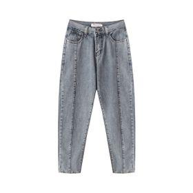 Quần Jeans Nữ Baggy Phối Đường May Đẹp - Mã: 299 giá sỉ