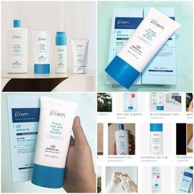Kem Chống Nắng Vật Lý Make P:rem Prem UV Defense Me Blue Ray Sun Cream 70ml giá sỉ