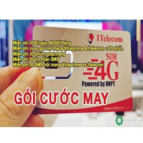 Sim 4G 90GB/Tháng Giá Siêu Rẻ giá sỉ