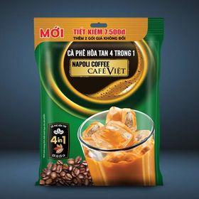 Cà phê sữa đá 4in1 bổ sung Socola 522g - Napoli giá sỉ