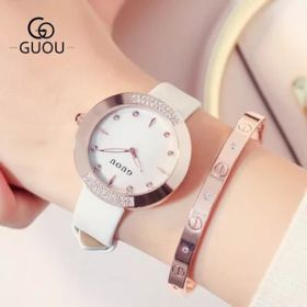 Đồng hồ nữ GUOU 8092 giá sỉ