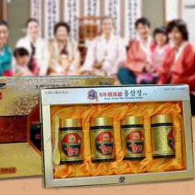Cao Hồng Sâm Kanghwa Cao Cấp Hàn Quốc, Hộp 4 lọ giá sỉ