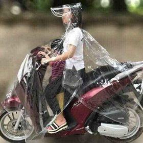 Áo mưa trong suốt 1 đầuu giá sỉ