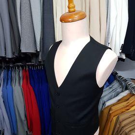 Áo gile đen nam ôm body trẻ trung năng động chất liệu vải mềm mỏng giá sỉ
