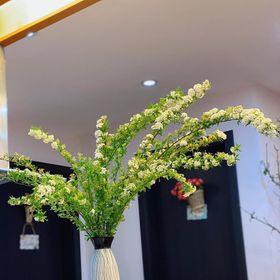 Lọ hoa kẻ mưa decor