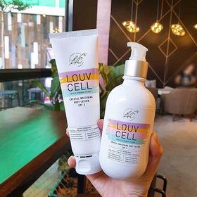 Kem dưỡng trắng da body Louv Cell Hàn Quốc giá sỉ