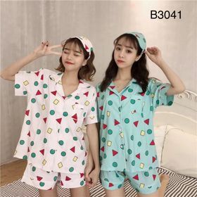 Đồ Bộ pijama 3 món bán đắt miễn bàn giá sỉ