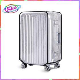 Bao trùm nhựa vali size 24 inch trong suốt Shalla QAS56 giá sỉ