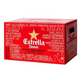 Bia Estrella Damm 330ml - Thùng 24 chai giá sỉ