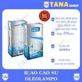 Bao cao su Oleo Lampo Longshock 4in1 12s giá sỉ