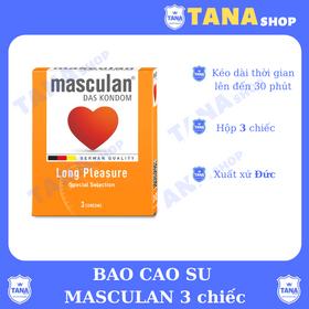 Bao cao su Masculan 3s giá sỉ