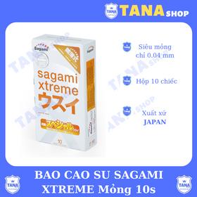 Bao cao su Sagami Xtreme mỏng 10s giá sỉ