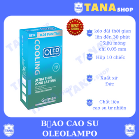 Bao cao su Oleo Lampo Cooling 10s giá sỉ