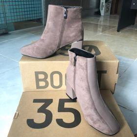 Giày boot cao gót cc - hồng Nữ 1 giá sỉ