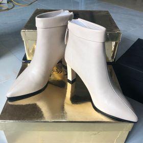 Giày boot cao gót cc - trắng nữ 1 giá sỉ