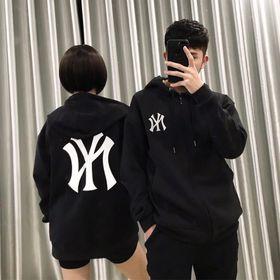Áo hoodie nỉ in logo new yort giá sỉ