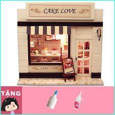 Mô hình tiệm bánh Cake Love - tuighfdiu894 giá sỉ