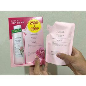 Set nước hoa hồng Mamonde Chuẩn hàng giá sỉ