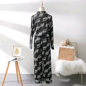 Đồ ngủ pijama tdqd COCA-COLA NỮ chất lụa qc giá sỉ